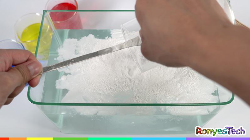 Instant Alginate Worm Experiment Instruction Step1