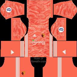Kostum Dream League Soccer Watford FC Lengkap
