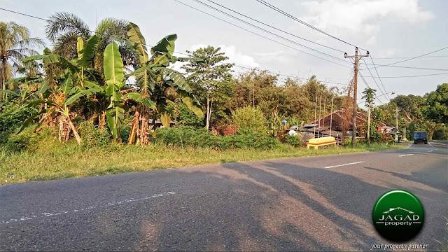 Tanah tepi jalan Cangkringan dekat Wisata
