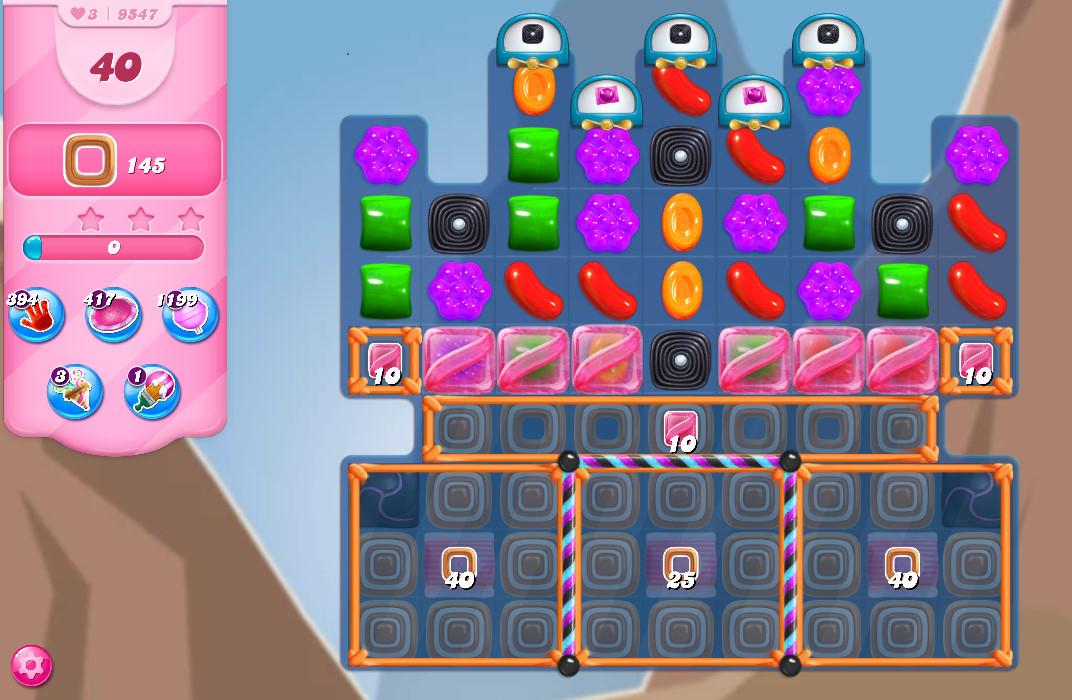 Candy Crush Saga level 9547