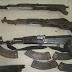 Συνελήφθη Αλβανός που είχε κρύπτη με καλάσνικοφ και σφαίρες σε ελληνικό έδαφος