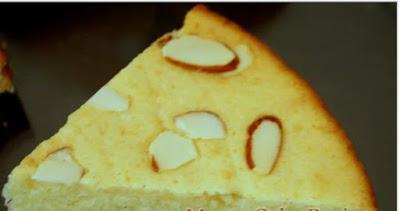 Slice of  mawa cake