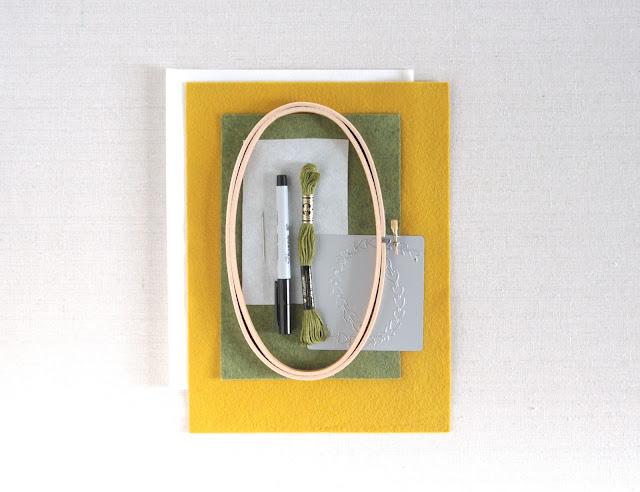 DIY Hoop Art // Benzie Design // WRMK