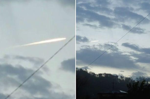Meteor Yang Nampak Setelah Gempa Jepang