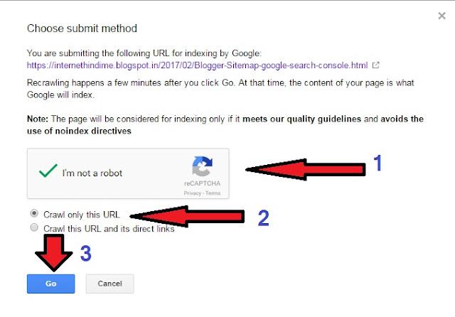 Post ko Google Search me kaise laye