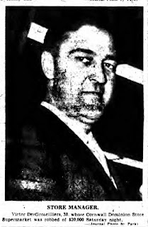 Victor DesGroseilliers held hostage in 1955