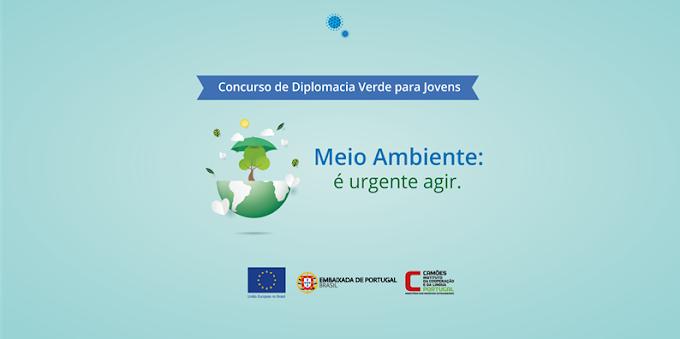 Internacional: Prémio Diplomacia Verde para Jovens 2020