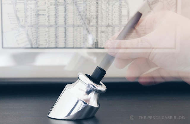 Review: Good Made Better Penwell & Pen Stand desk accessories to turn any (fountain) pen into a desk pen.