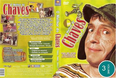Série O Melhor do Chaves Volume 3 DVD Capa