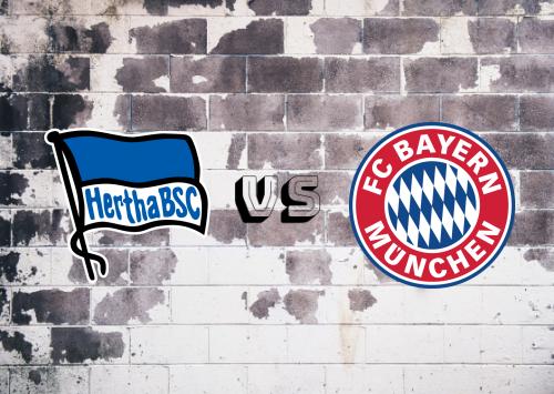 Hertha BSC vs Bayern München  Resumen y Partido Completo