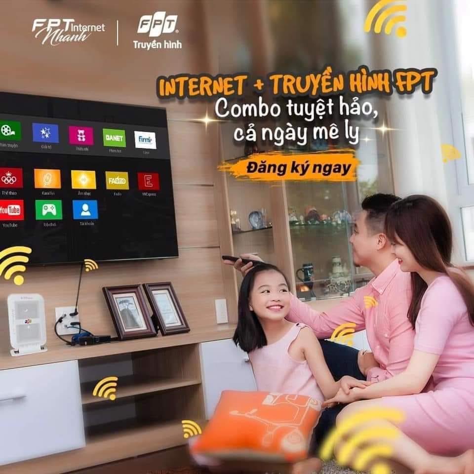 Gói cước Combo Internet FPT + Truyền hình FPT