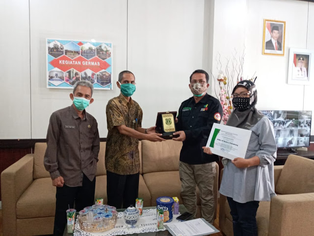 Kadinkes Muba Sambut Hangat Kunker BTKL PP Wilayah I Palembang