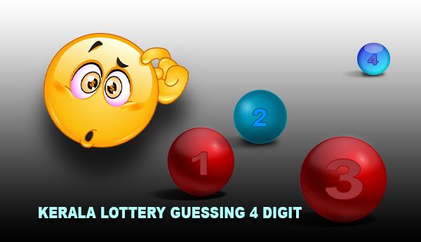 Kerala Lottery Guessing 4 Digit Numbers
