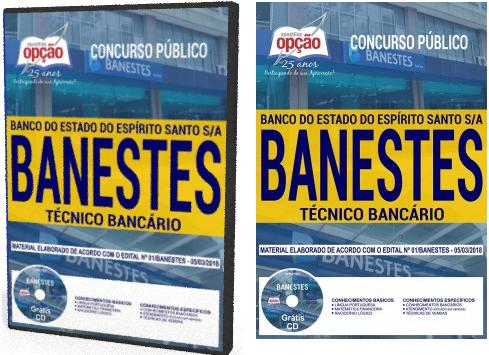 apostila concurso Banestes TÉCNICO BANCÁRIO 2018