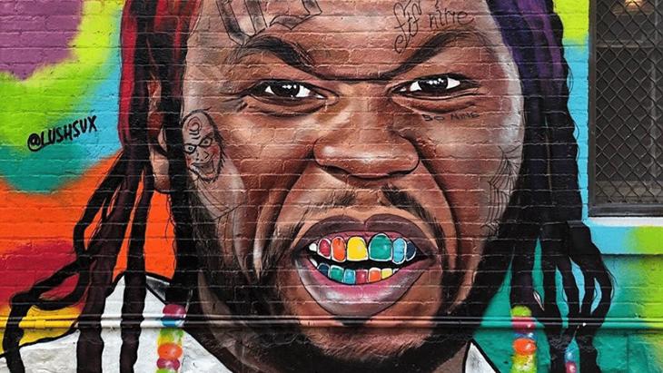 50 Cent tagué en 6ix9ine, il s'énerve !