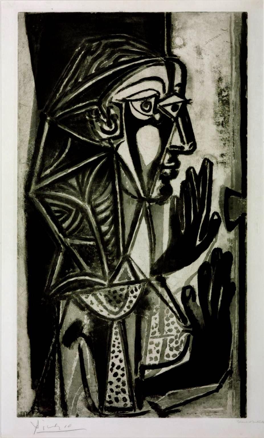 Mulher na Janela - Picasso e suas pinturas ~ O maior expoente da Arte Moderna