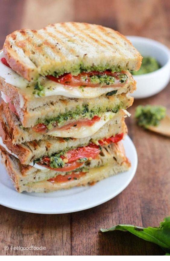 Grilled Mozzarella Sandwich