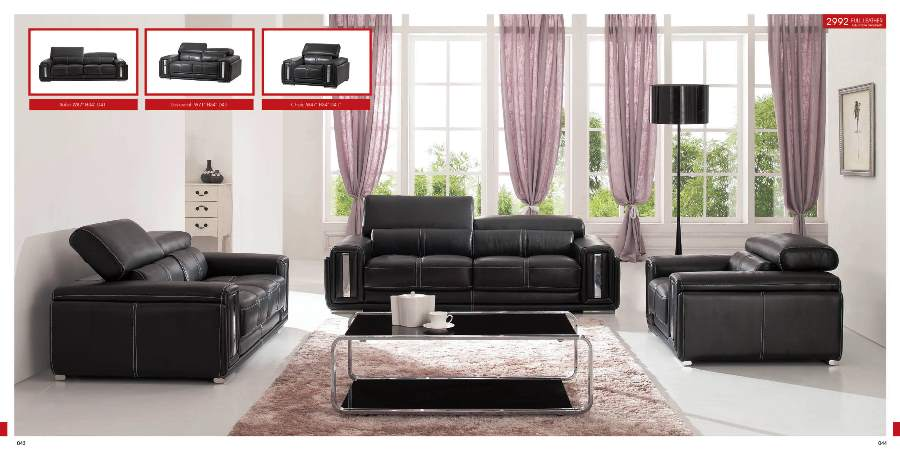 leather living room furniture sets canada - Furniture ...