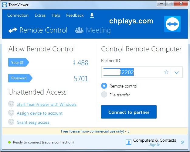 Cách sử dụng phần mềm TeamViewer 12 trên máy tính c