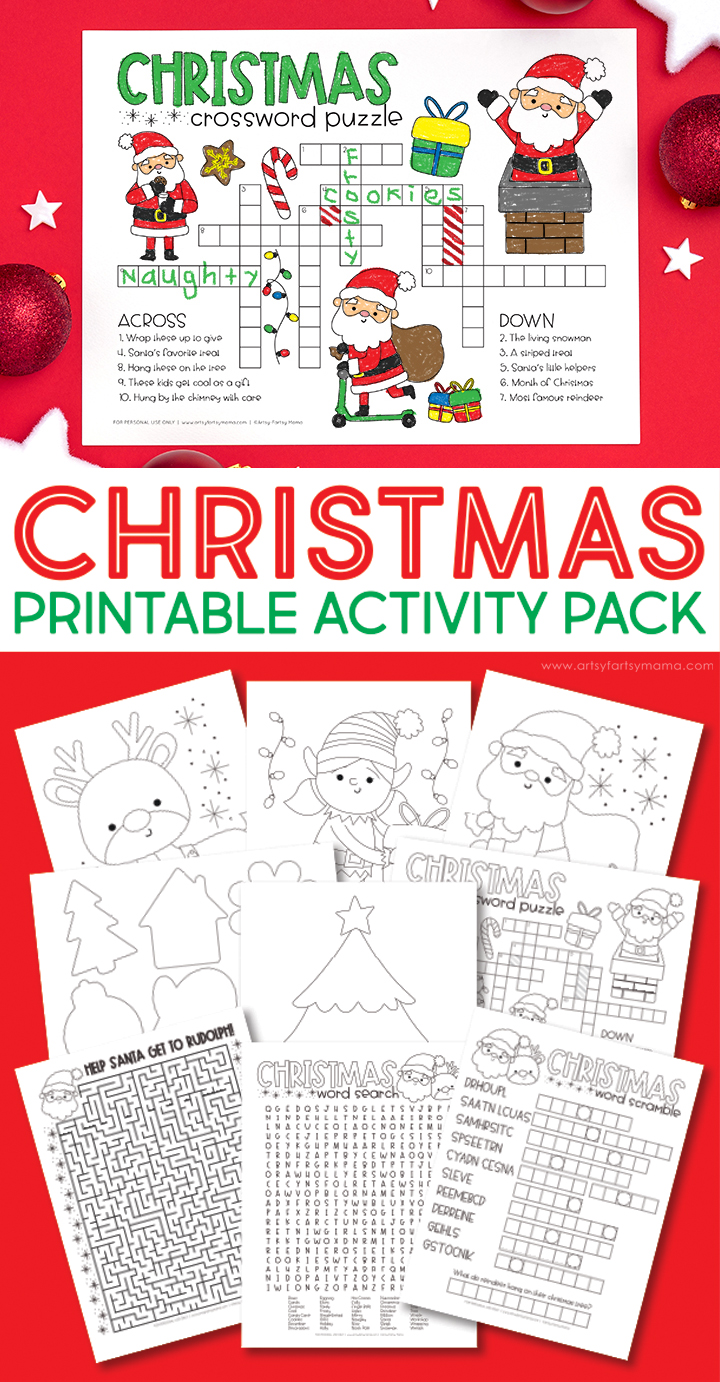 Free Printable Christmas Activity Pack