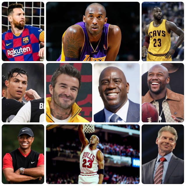 Richest Athletes in the world 2020