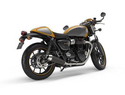 New 2016 Triumph Street Cup right side view