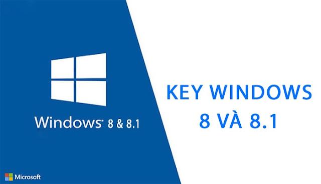 [Share] List Key Win 8 và Key Win 8.1 Mới Nhất 2021
