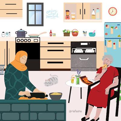Tips Menjada Kebersihan Dapur