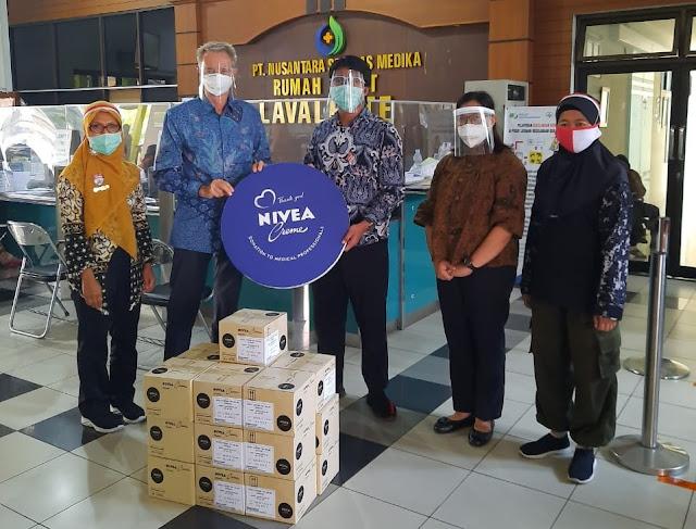 donasi nivea untuk tenaga medis