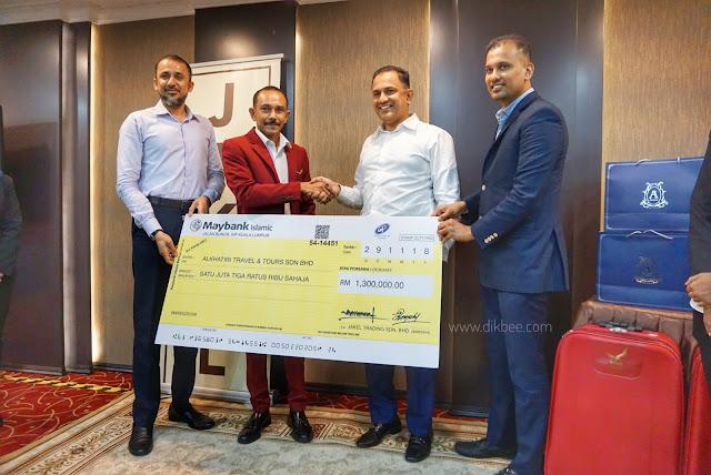 Jakel Memilih 200 Pemenang Menunaikan Umrah