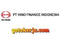 Lowongan Kerja Terbaru PT Hino Finance Indonesia