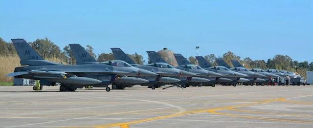 Η αεροπορική υπεροχή του «Ηνίοχου» που εκνευρίζει την Άγκυρα: Οι «hot» περιοχές του FIR που πετούν οι σύμμαχοι