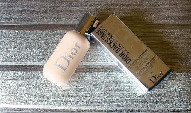 Dior Backstage Face & Body foundation, Le nouveau fond de teint qu'il vous faut ?