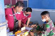 Pentingnya Menggunakan Masker, Bati Wanwil Koramil 01 Karanganyar Laksanakan Komsos Pada Warga Binaan