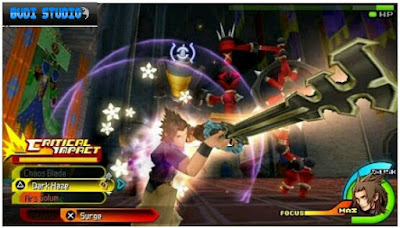 Kingdom Hearts Birth by Sleep PPSSPP PSP
