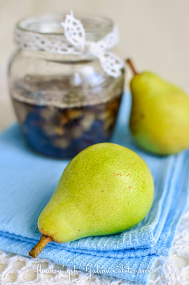 грушевое варенье с маком рецепт