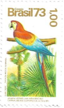 Selo Arara-vermelha