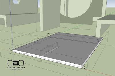 Skema Box Speaker Planar 15 Inch Komplit Dengan Ukuran nya