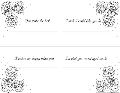free keepsake gift book to print for Mom