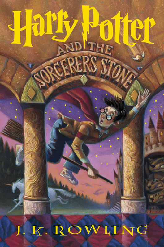 Harry Potter and the Sorcerer's Stone, cover by Mary GrandPré