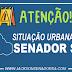 Veja a situação urbana de Senador Sá, apontamos todos os pontos que existem a necessidade de asfalto e calçamento: Confira nosso levantamento!