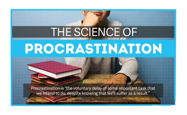 Image: The Science of Procrastination #infographic