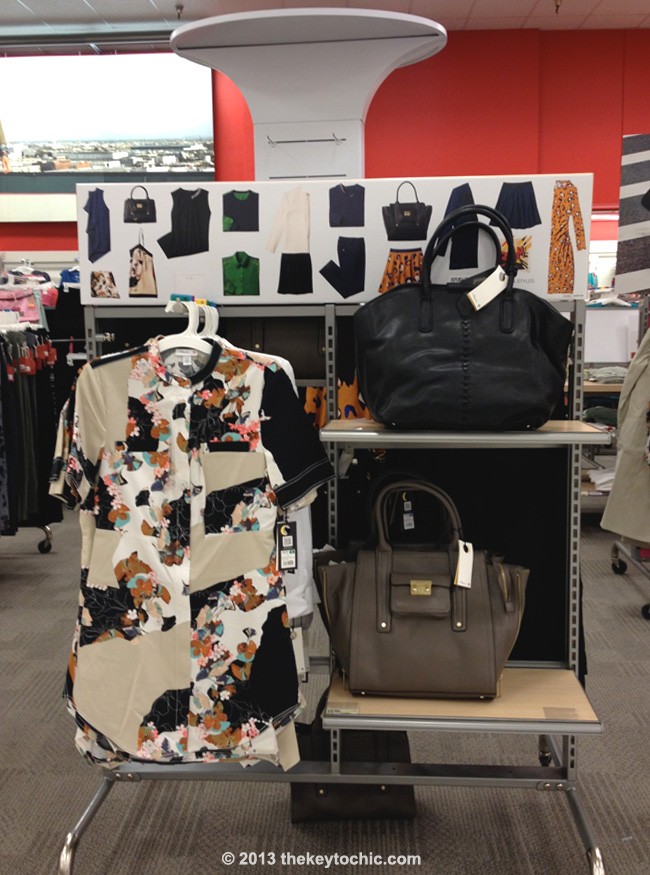 3.1 Phillip Lim for Target dress and bags