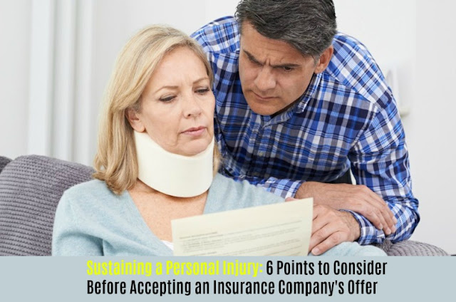 6 Points to Consider Before Accepting an Insurance Company's Offer
