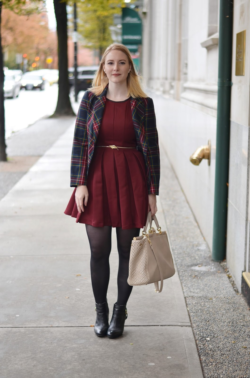 High Tea Dress for Winter