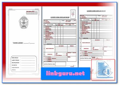 Contoh Buku Legger Siswa SD Siap Pakai Format Words Doc
