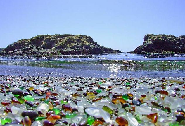 Tourism: Glass Beach