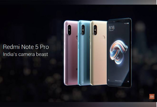 Xiaomi launches Redmi Note 5 Pro starting at Rs 13,999 with 20MP selfie camera