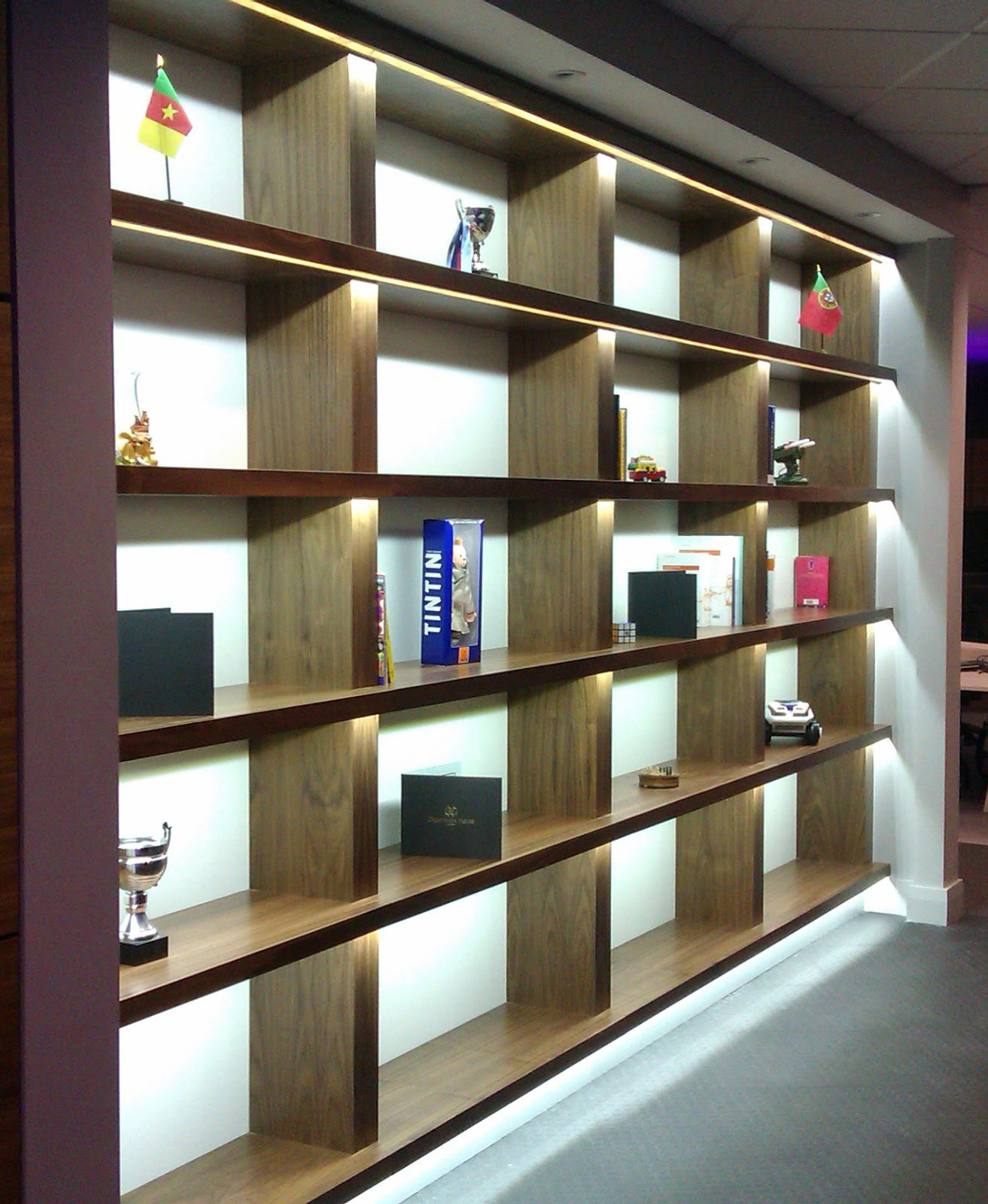 Bringing Your Bookshelves To Life With LED Tape