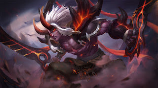 Download Script Skin Martis - Searing Maw (Mobile Legend)